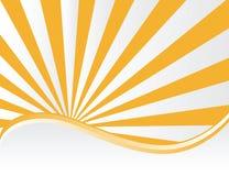 вектор sunburst Стоковая Фотография RF