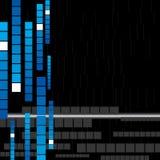 вектор techno предпосылки самомоднейший Стоковое Фото