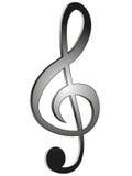 вектор treble иллюстрации clef Стоковая Фотография RF