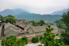 Великая Китайская Стена Китая в Пекине стоковая фотография