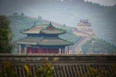 Великая Китайская Стена Китая в Пекине стоковое изображение rf