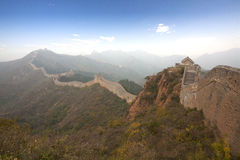 Великая Китайская Стена Китая стоковое изображение rf
