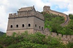 Великая Китайская Стена, Пекин Стоковые Фото
