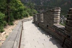 Великая Китайская Стена, Пекин Стоковые Фотографии RF