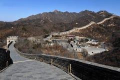 Великая Китайская Стена фарфора Пекин Стоковая Фотография RF