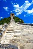 Великая Китайская Стена фарфора 01 предпосылки Стоковые Фото