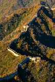 Великая Китайская Стена фарфора Стоковые Фото