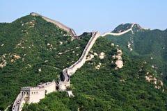 Великая Китайская Стена фарфора Стоковое Изображение RF