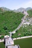 Великая Китайская Стена фарфора Стоковые Фотографии RF