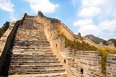 Великая Китайская Стена фарфора Стоковая Фотография RF