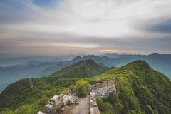 Великая Китайская Стена фарфора Стоковое фото RF