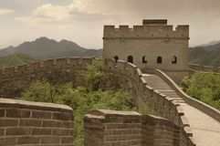 Великая Китайская Стена 01 фарфора Стоковые Фото
