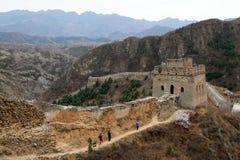 Великая Китайская Стена Стоковые Фотографии RF