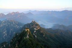 Великая Китайская Стена Стоковое Фото