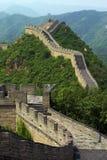 Великая китайская стена Стоковая Фотография