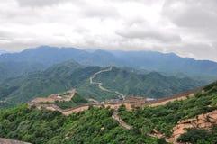 Великая Китайская Стена Стоковое Изображение RF