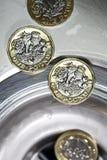 великобританская валюта Стоковое фото RF