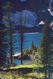 великобританская гора озера Канады columbia утесистая Стоковая Фотография RF