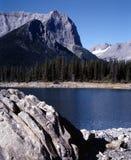 великобританская гора озера Канады columbia Стоковые Фотографии RF