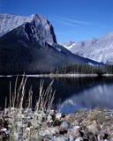 великобританская гора озера Канады columbia Стоковые Изображения