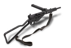 великобританская пушка mk2 sten submachine Стоковые Фото