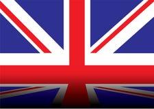 великобританская тень флага Стоковые Фото