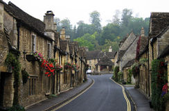 великобританская улица Англии старая Стоковое фото RF