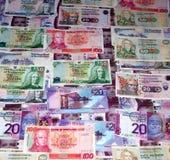великобританские деньги Стоковое Изображение