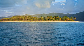 великобританские острова виргинские стоковые фотографии rf