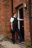 великобританские полиции офицера стоковая фотография rf