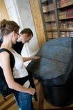 Великобританский камень Museum_Rossetta Стоковое Изображение
