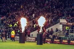 Великобританский международный стадион Twickenham рэгби стоковая фотография