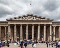 Великобританский музей Лондон Англия стоковая фотография