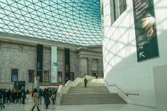 великобританский музей london Стоковая Фотография