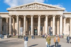 великобританский музей london Стоковые Изображения RF