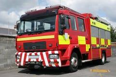 великобританский пожар двигателя стоковое фото rf