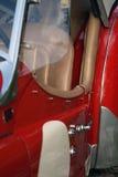 великобританский сбор винограда красного цвета гонки автомобиля Стоковые Изображения RF