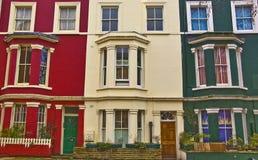 великобританский тип зданий стоковые фото