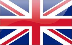 великобританский флаг Стоковое фото RF