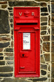 Великобританский Postbox Стоковые Изображения RF