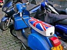 Великобританский Vespa стоковое изображение