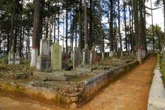 великобританское кладбище i стоковые изображения rf