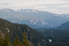 великобританское squamish реки Канады columbia Стоковое Фото