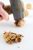 великолепная nuts кувалда к Стоковые Фотографии RF