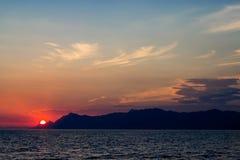 Великолепный вид залива Черногории Kotor Стоковое Фото