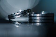 2 великолепных обручального кольца Стоковая Фотография RF
