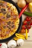 величает пицца Стоковые Изображения RF