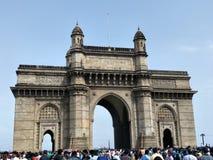 Величественное ворот Индии, Мумбай стоковое фото rf
