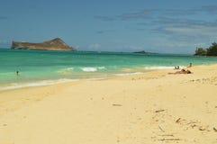 Величественные и неимоверные белые пляжи Стоковое Фото