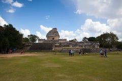 Величественные майяские руины в Chichen Itza, Мексике Стоковое Изображение RF